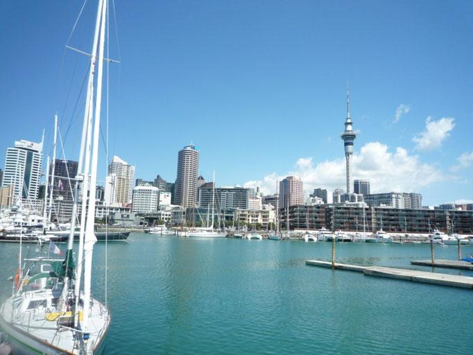 Arribada a Auckland