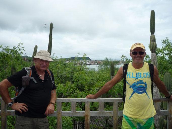 Vistas desde El centro de interpretación donde se puede conocer la historia de Las Galápagos