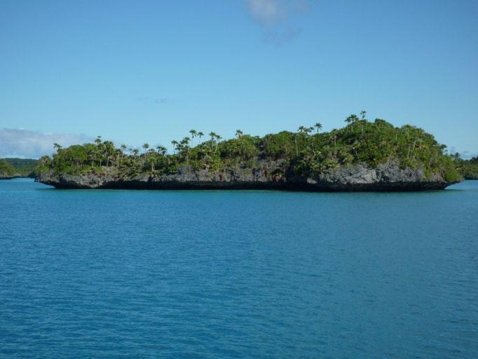 """Las llamadas """"lemonstones"""", las roca que emergen del mar con se base erosionada, están por todas partes"""
