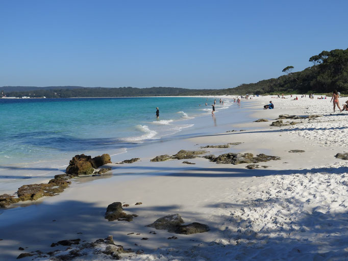 Jervis Bay, Hyants Beach