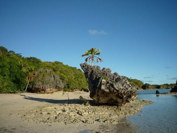 Fulaga está lleno de playas de arena blanca