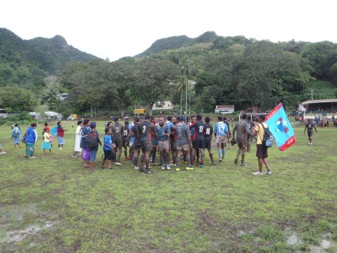 Partido de rugby el sábado