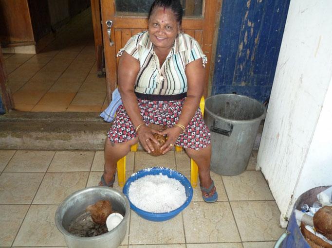 Rayadora de coco