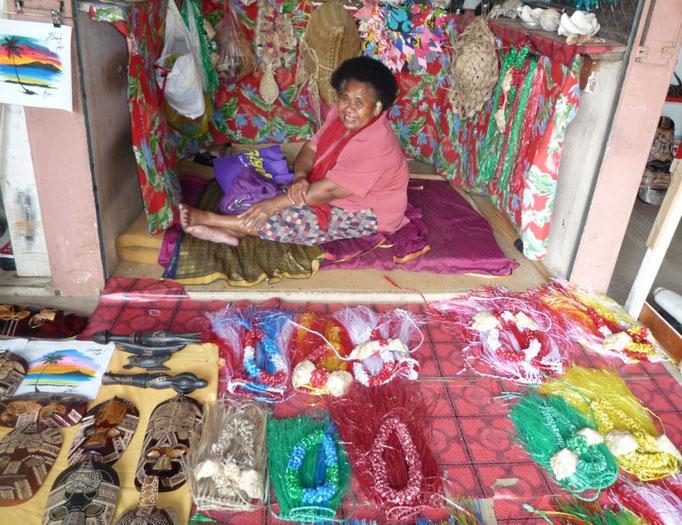 Mercado de artesanías, Nadi
