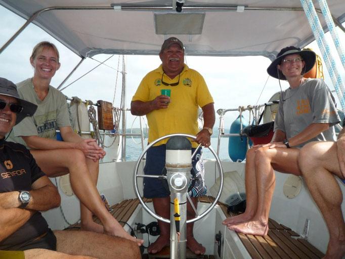 Vamos a hacer snorkel con Jack, Victoria, Namani y Merilelu