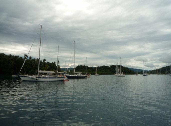 Los barcos a Boya