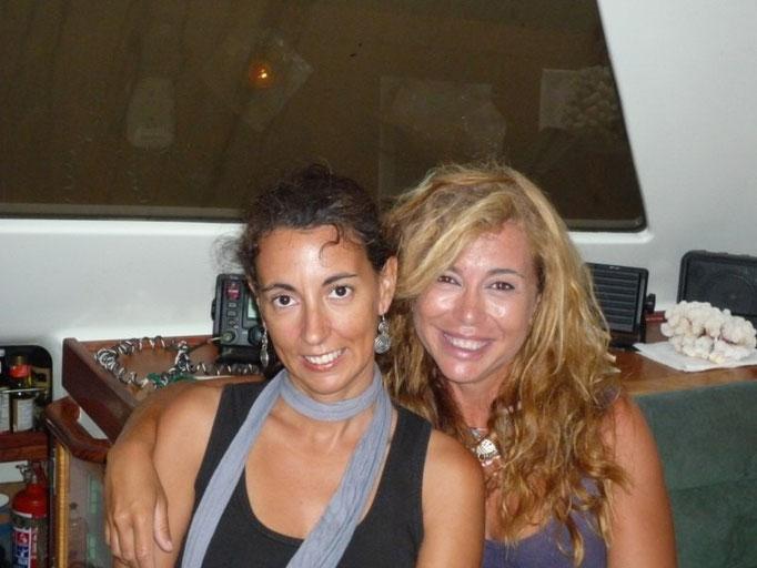 Con Mercedes, una gallega en la Polinesia