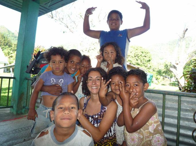 Los niños de Lomati