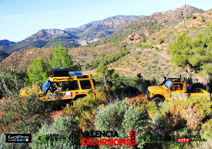 Visita la Sierra Calderona con Calderona Experience. Montañas de Valencia en 4x4 todoterreno. Valencia Excursions