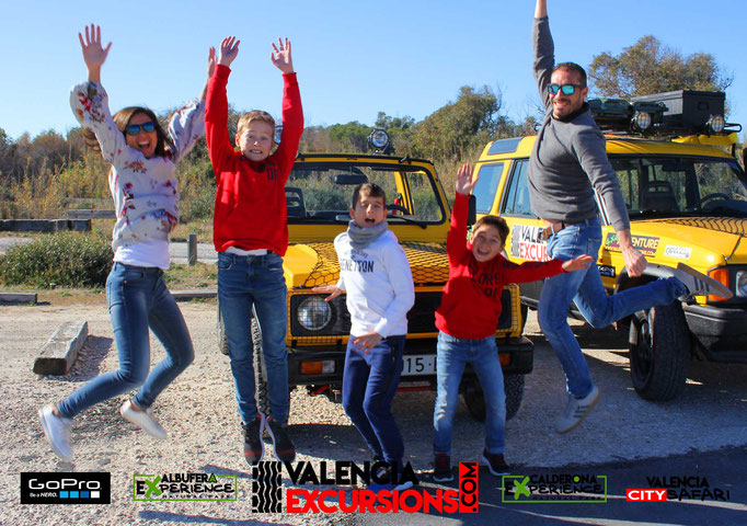 Family excursions and tours in Valencia. Albufera Experience jeep tour is family friendly in Valencia