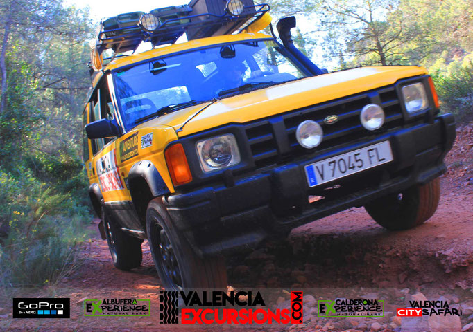 Offroad tour in Sierra Caldeona Valencia. Outdoor activities in Valencia. Valencia Excursions organize jeep tours in Valencia