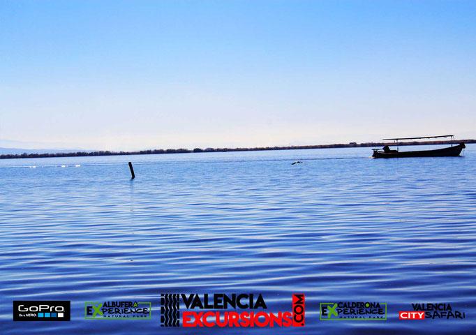 Imágenes del lago de L'Albufera durante la excursión Albufera Experience, operada por Valencia Excursions en Valencia