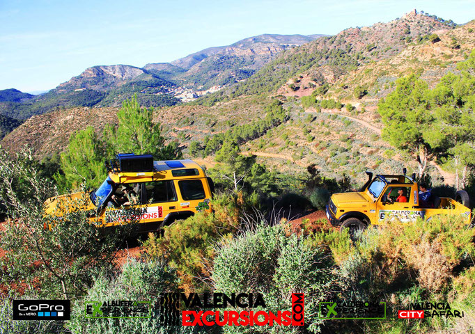 Visit Sierra Calderona in Valencia with Calderona Experience. Self drive 4x4 tour for all ages. Adventure in Valencia www.valenciaexcursions.com