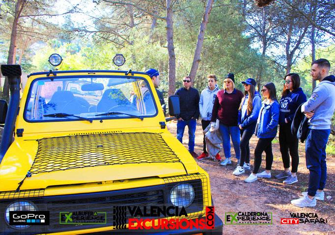Actividades al aire libre en Valencia es Calderona Experience. Aventura 4x4 en Valencia con Valencia Excursions