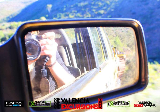 Fotos y vídeos gratis de tu excursión en 4x4 durante tus vacaciones en Valencia. Experiencia 4x4 con Calderona Experience 4x4 tours