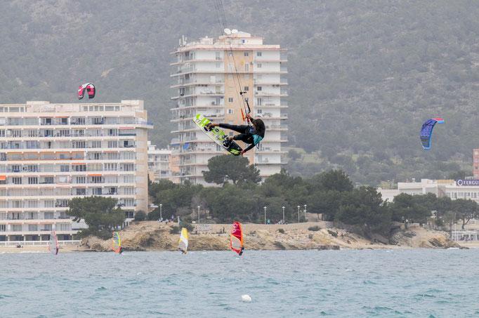 kitesurfer Mallorca