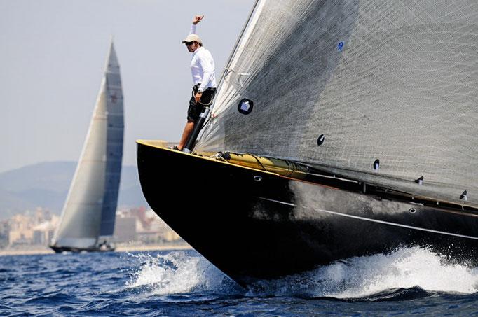 Race action J class Mallorca