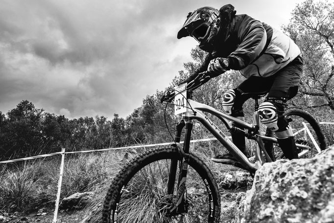 Downhill race Mallorca