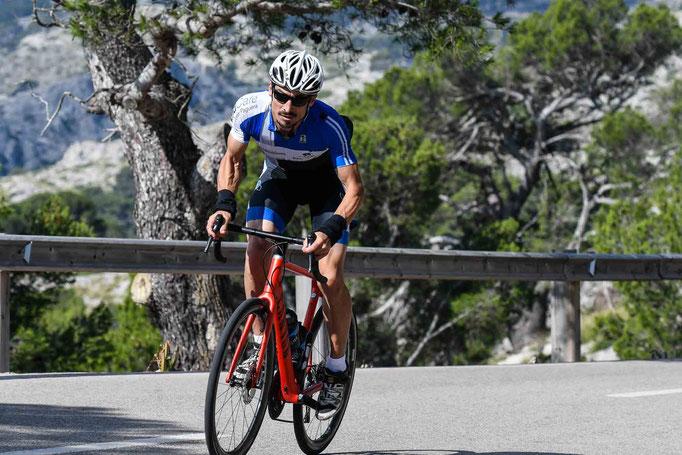 Uphill climb Cape Formentor