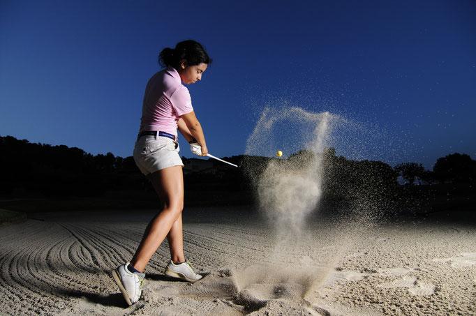 Golf Fotografie auf Mallorca