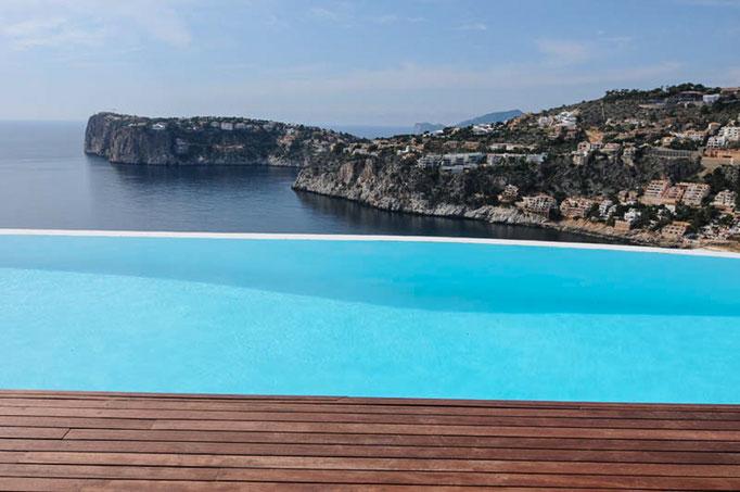 Luxus Pool Fotograf