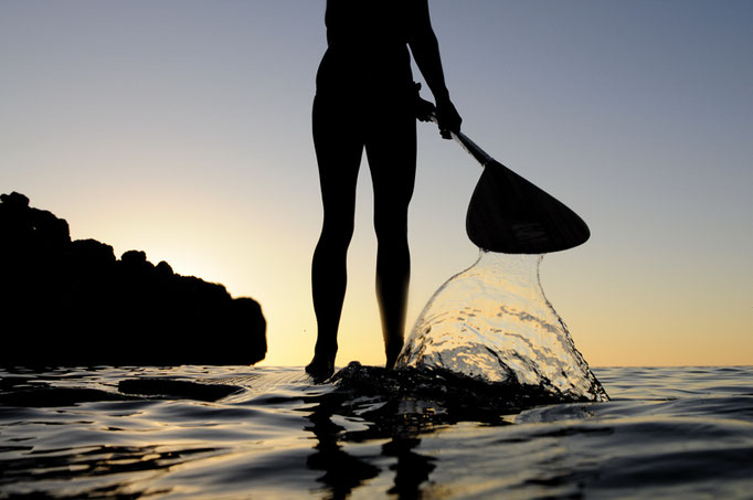 SUP surf fotographie