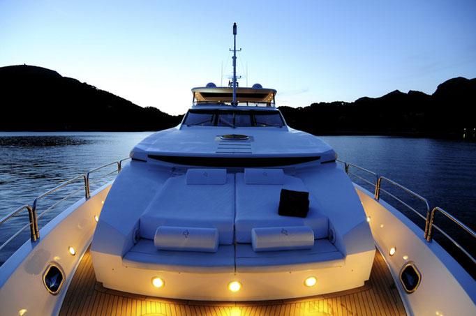 Luxus Yacht Foto Shooting
