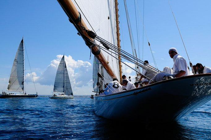 Oldtimer sailing regatta