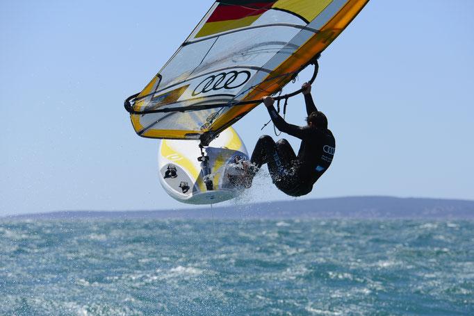 Toni Wilhelm, Windsurfer