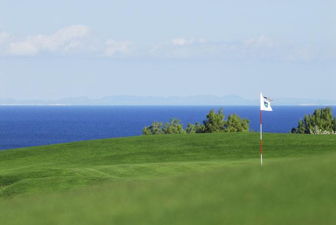 Campos de golf con vista