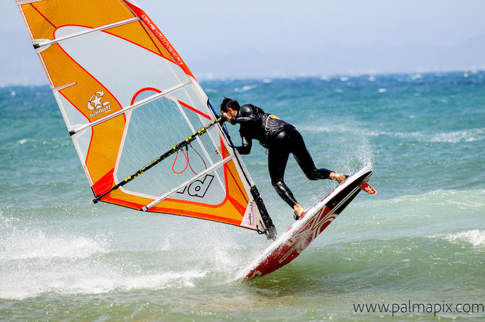 Freestye Windsurf Action Mallorca