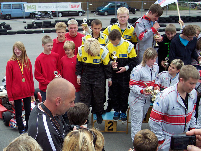Siegerehrung der Mannschaften, MSC Land Hadeln auf Platz 4