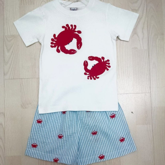 Crab Tee & Shorts
