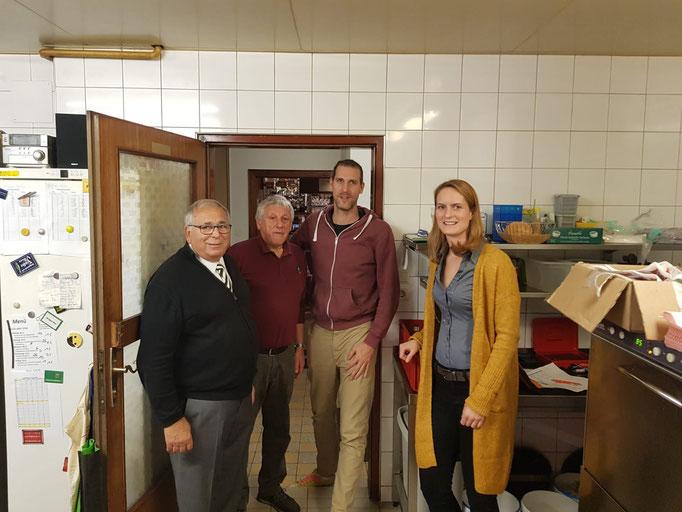 v.l.: Hubert Pfeiffer, Rudolf Weiss, Markus Marchsteiner, Nadine Winkler