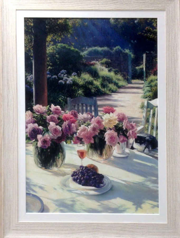 Ltd Ed Prt 119/199 | 750x980mm | M. Challen - Rose Garden