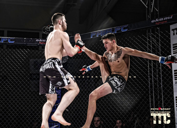 Islam Khapilaev (Black Wolves) vs. Jarno Errens (Team Thriving)