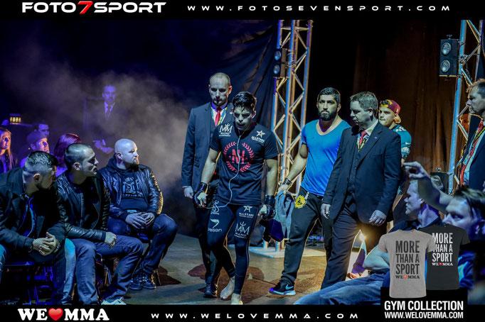 Nasrat Haqparast (Team Ismail) vs. Fabrice Kindombe (Team Mb Academy Paris)