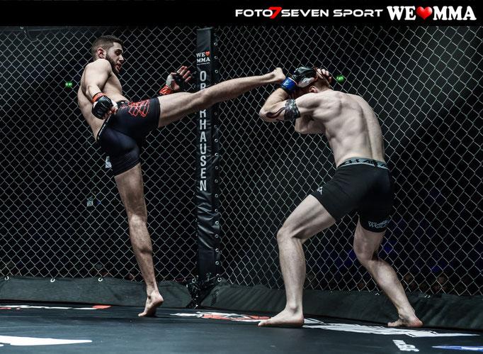 Timon Glüge (Wolfpack Cologne) vs. Serdar Ülger (MMA Corps Ruhrpott)