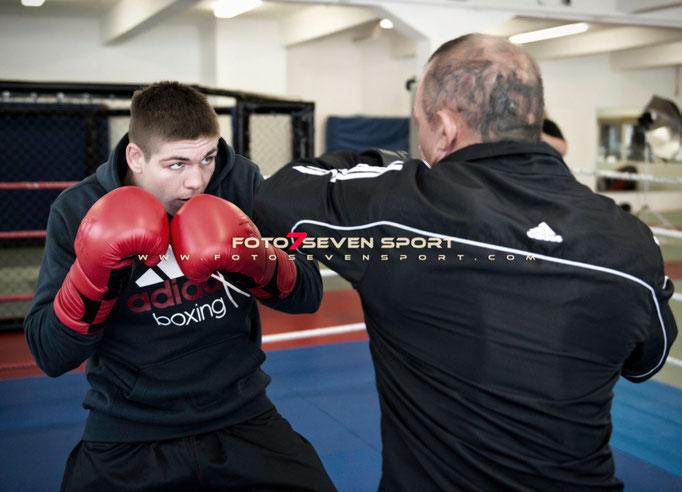 Fotoshooting mit Vincent Feigenbutz • ADIDAS MMA • SportArt3 • Foto Seven Sport • Pervin Inan-Serttas • Sportfotograf • Profiboxen • Boxfotograf