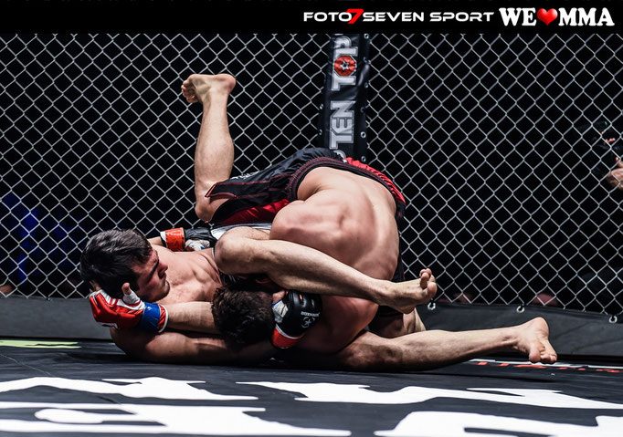 Yasin Kalyoncu (Pride Gym Düsseldorf) vs. Ataev Abdurashid (Sok Chai Berlin)