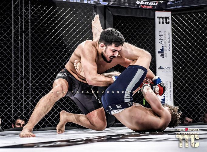 Sereno Hendriks (Tatsujin Nijmwegen) vs. Muhammed Celebi (Anima MMA)