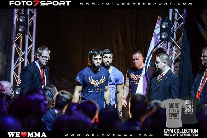 Mehmet Yüksel (MY Team / Team Ismail) vs.  Magommed Aischanov (Van Rijt Top Team Voronezh Russland)
