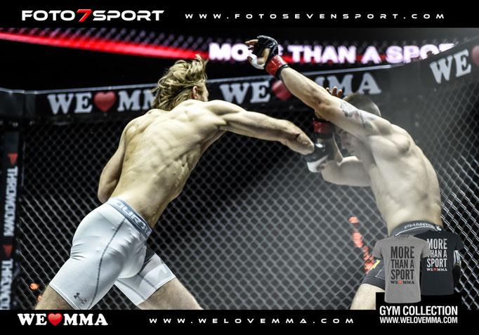 Kristian Lovric (MMA Evolution Braunschweig) vs. Pascal Wolf (Mad Monkey Academy Dorsten)