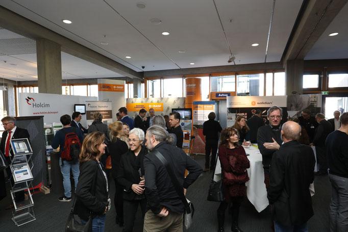 Rund 500 Architekten kamen zu den 64. BetonTagen.