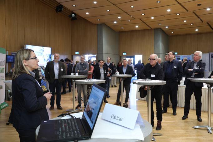 """Raum für Kurzvorträge bot das neue """"Forum Innovation""""."""