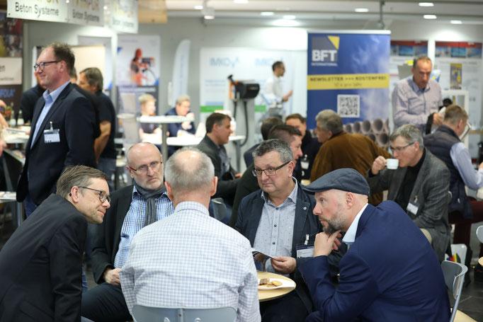 Immer gut besucht und eine Anlaufstelle für viele Treffen: das Café-BFT.