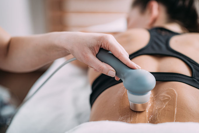 Ultraschalltherapie Basel, Physiotherapie Wellsana, gegen Schmerzen bei Arthrose, Gelenkentzündungen, Vernarbungen, nach Operationen, Bandscheibenopartionen
