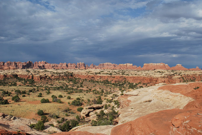 Canyonlands, visite par l'entrée Est, très différente du Nord!