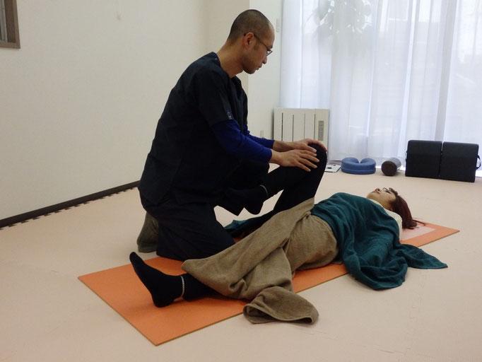 股関節の検査と調整