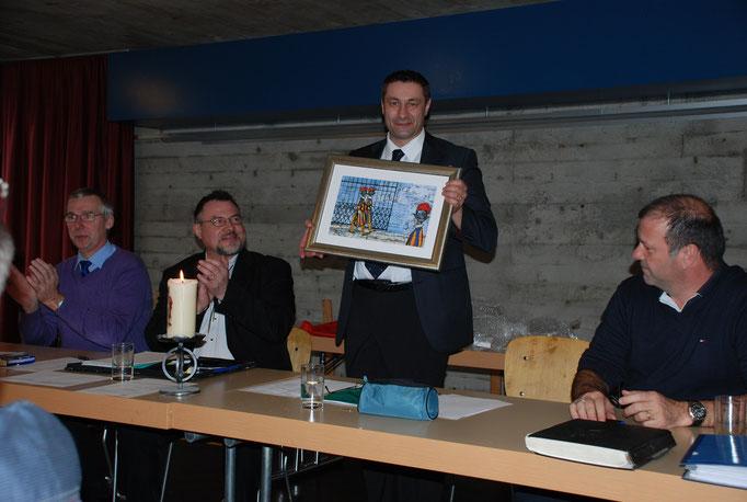 Wachtablösung in der Sektion Region Basel. Thomas sagt nach 16 Jahren ciao!